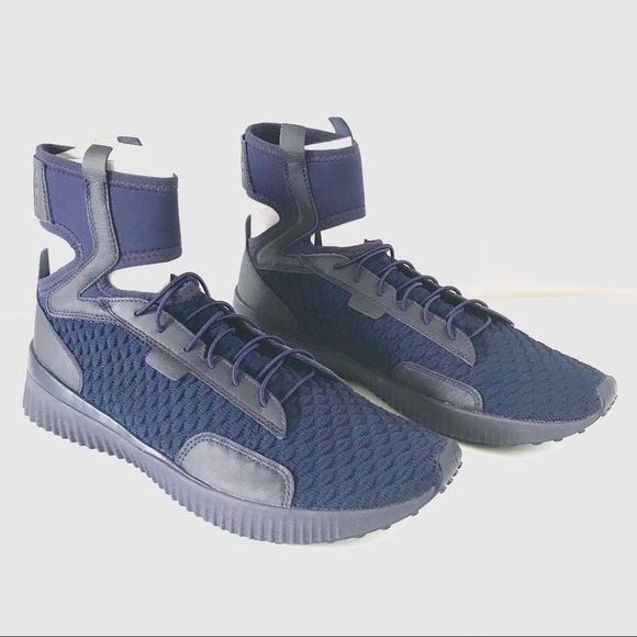separation shoes 6bcb9 02d41 Puma Fenty Men NEW trainer mid geo knit sneaker 10 NWT